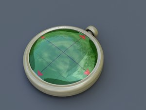 free dragon radar dragonradar 3d model