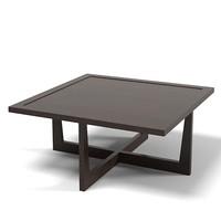 Giorgetti coffee cocktail square table modern contemporary