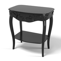 Giorgio Piotto CLASSIC NIGHT STAND SIDE TABLE CARVED