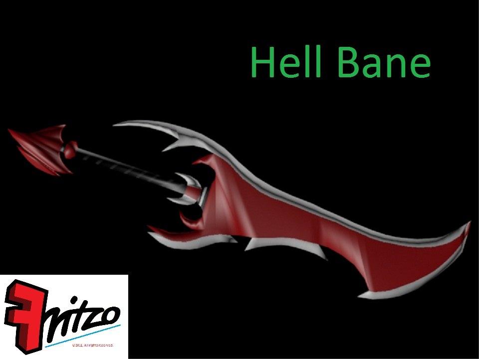 hell bane - sword 3d max