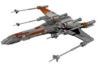 3d model lego s x-wing ultimate