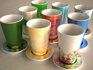 3dsmax coffee cup