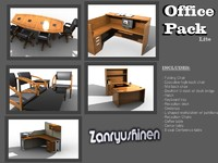 3ds office furniture