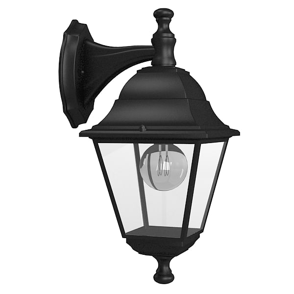 Outdoor Wall Lamp 3d Model
