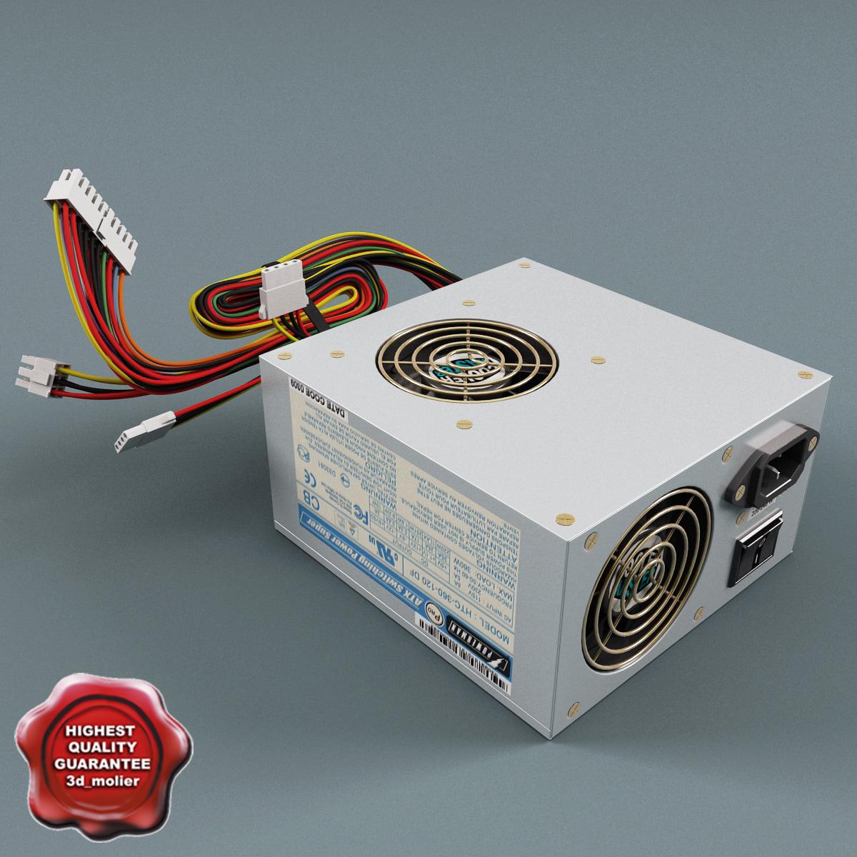3dsmax pc power supply unit