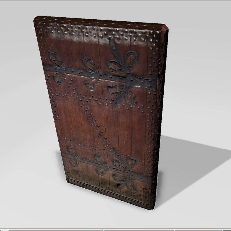 maya old door