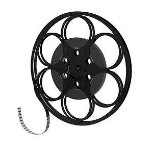 3d model tape bobbin reel
