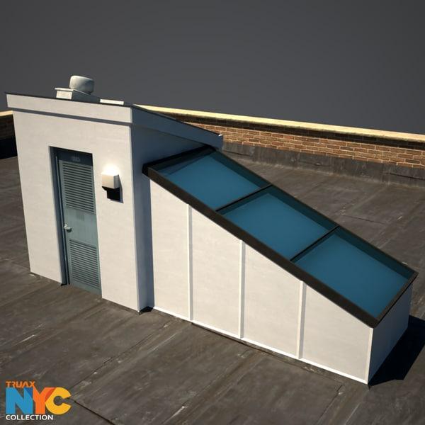 3d model rooftop studios