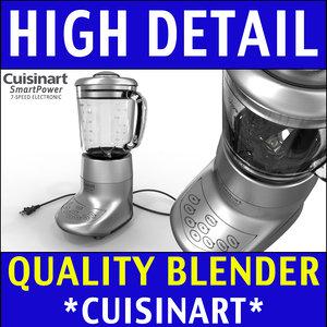 3ds max cuisinart blender modeled