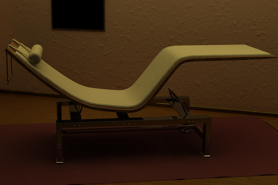 couch r 3d c4d