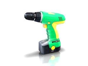 drill 3d model