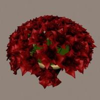 rose 3d max