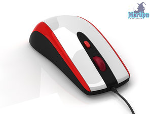 3d max computer mouse