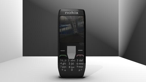 nokia phone 3d blend