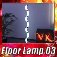 x modern floor lamp 03