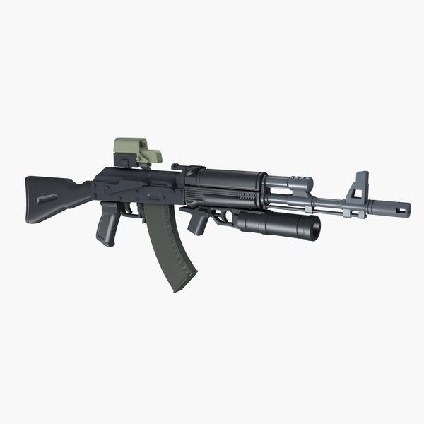 max russian assault rifle