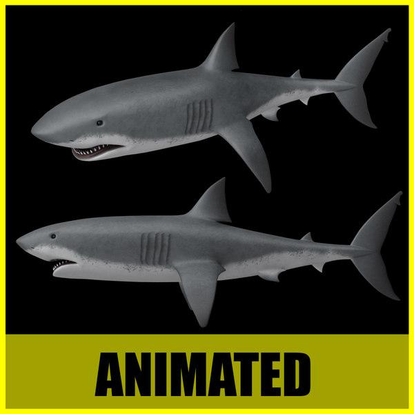 lightwave shark animation