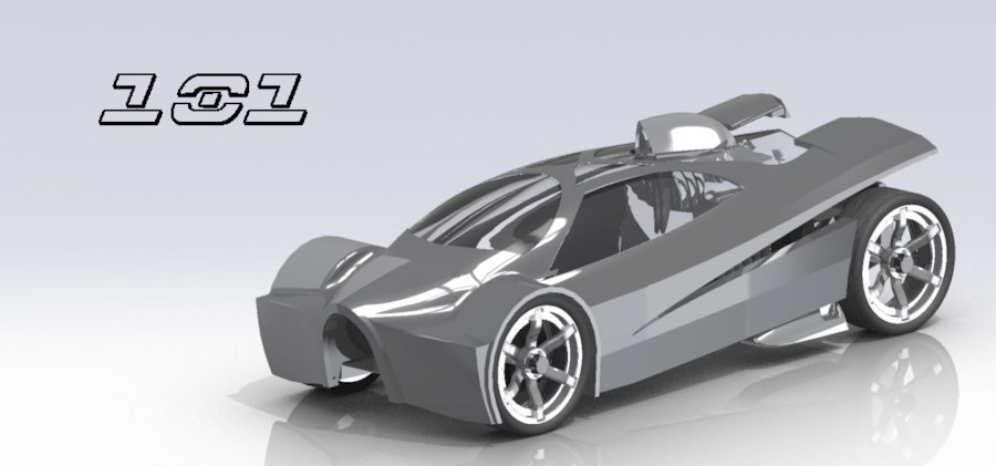car teku slingshot 3d model