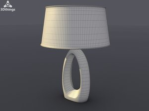 3ds max table lamp modern