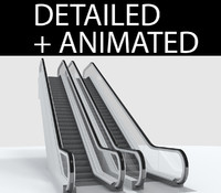 escalator 3d 3ds
