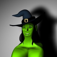 3ds witch hat