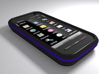 nokia 5800 express phone 3d model