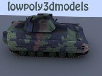3d tank bradley model