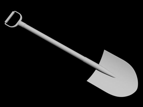 shovel 3d 3ds