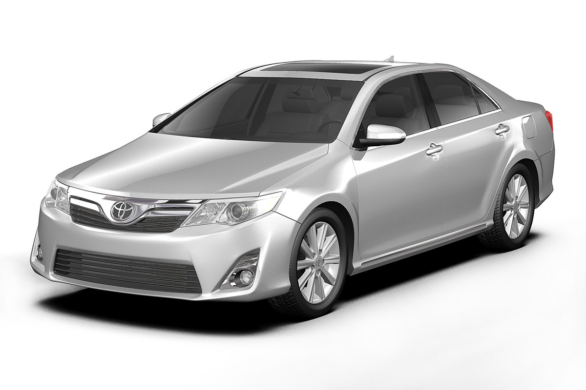 toyota camry 3d model