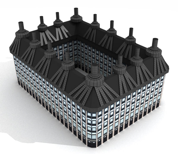 3d model portcullis house