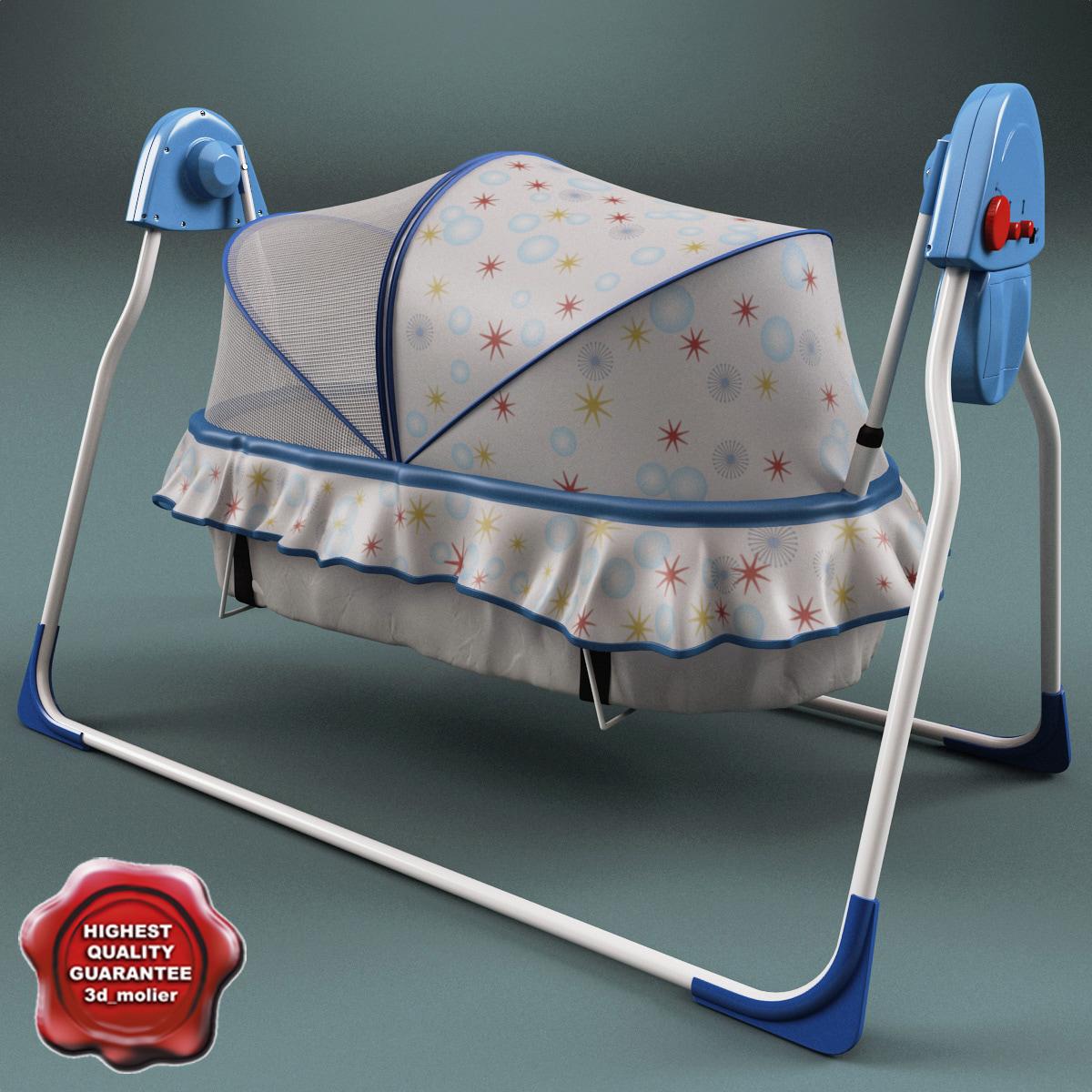 baby cradle 3ds