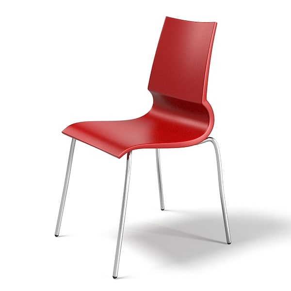 bistro dining chair 3d max