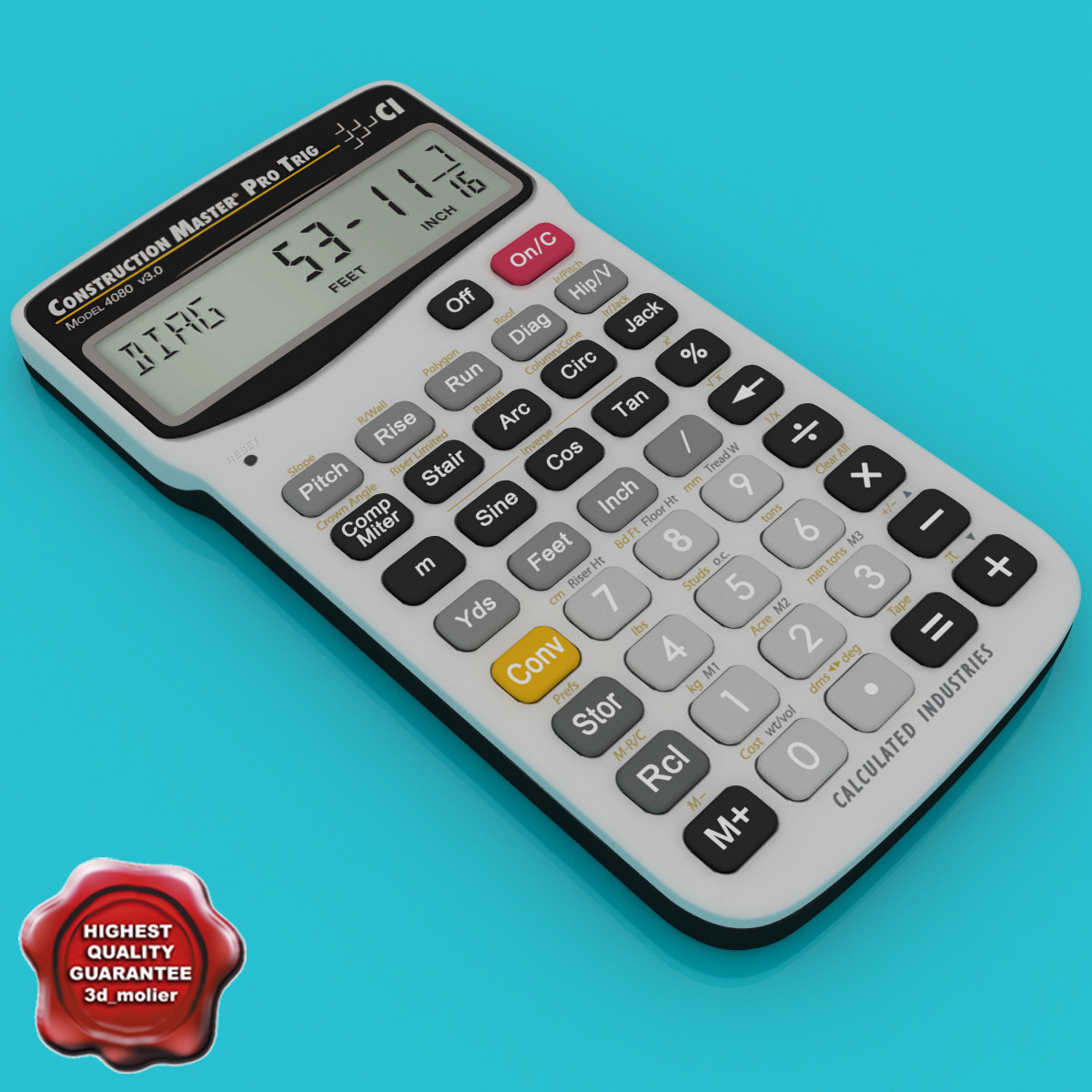 3d construction calculator master pro