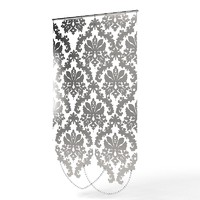 3d curtain decorative screen