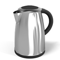 Electric Kettle Pot Teapot Teel Iron Metal Cookware