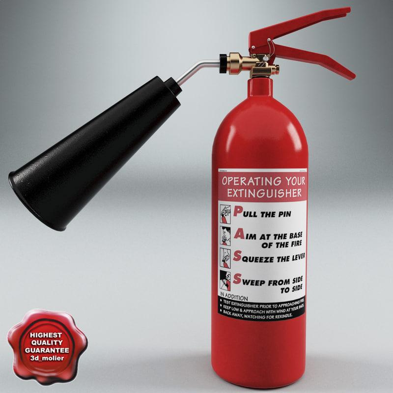 extinguisher v1 3d model