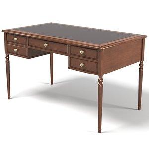 3d model home office desk