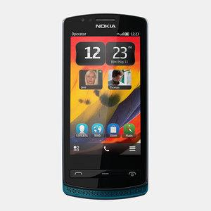 nokia 700 mobile phone 3d max