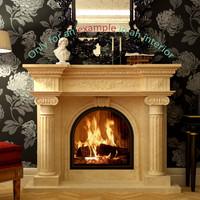 3d model fireplace 51