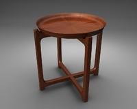 table architectural design 3d 3ds