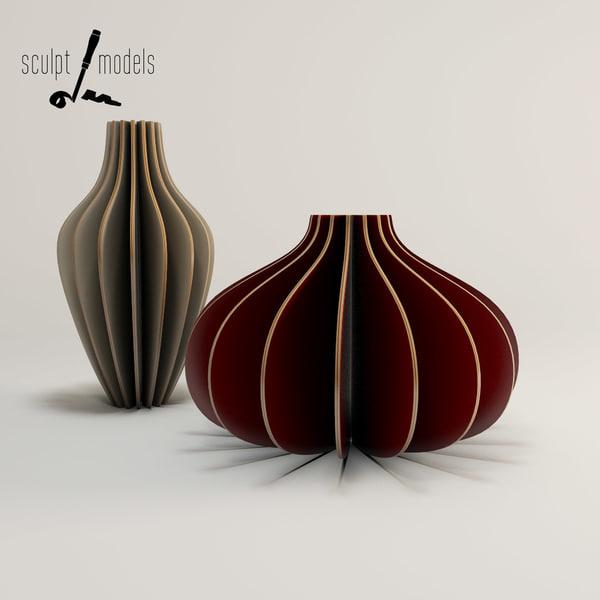 3d model ply vases