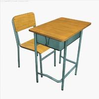 School Desk 01