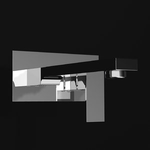 modern tap shower 3d lwo