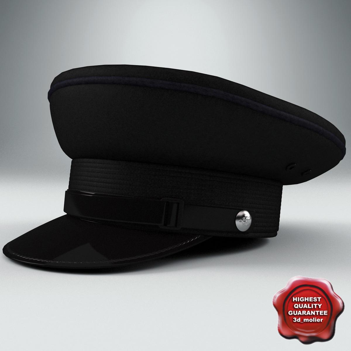 3d service cap model