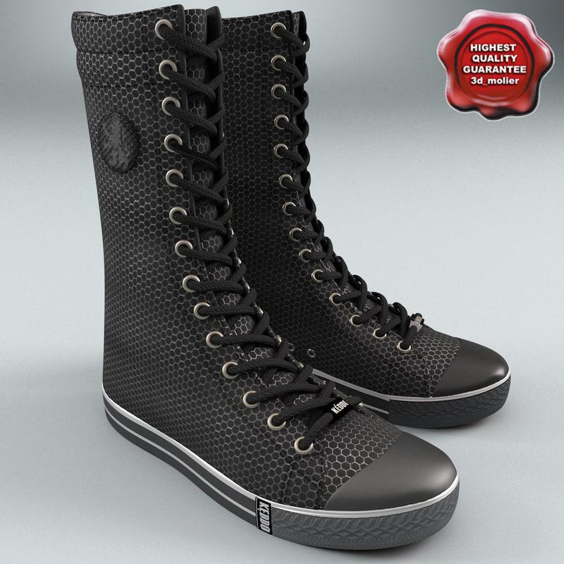 max sneaker boot keddo