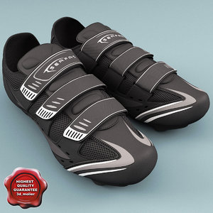 sneakers serfas interval 3d model