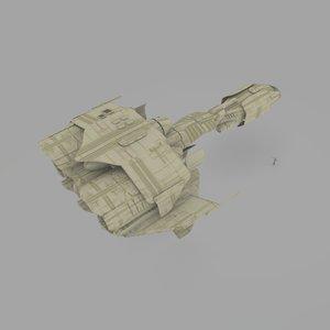 3d 408 shuttle model