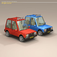 cartoon suv 3ds