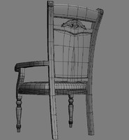 max carved chair