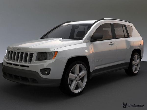 3d jeep compass 2011